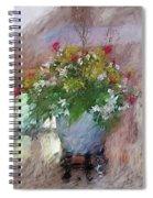 Flower Bowl Spiral Notebook