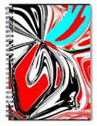 Flower Burst Of Color Spiral Notebook