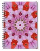 Flower Burst Spiral Notebook