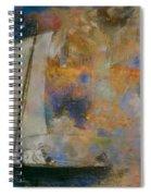 Flower Clouds Spiral Notebook