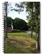 Flower Crane Spiral Notebook