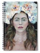 Flower Crown Spiral Notebook