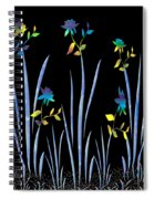 Flower Dance Spiral Notebook