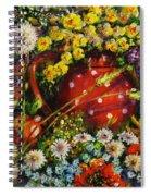 Flower Extravaganza Spiral Notebook