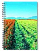 Flower Farm 1 Spiral Notebook