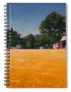Flower Field 1 Spiral Notebook