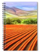 Flower Field Near Los Osos Spiral Notebook