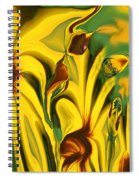 Flower Fun Spiral Notebook