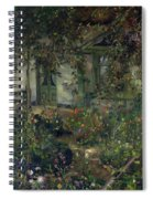 Flower Garden In Bloom Spiral Notebook
