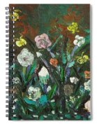 Flower Garden Spiral Notebook