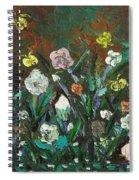 Flower Garden Spiral Notebook
