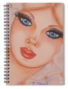 Flower Girl 5 Spiral Notebook