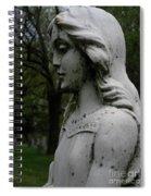 Flower Girl Profile Spiral Notebook