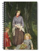 Flower Girl  Spiral Notebook