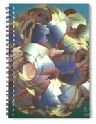 Flower Globe Spiral Notebook