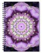 Flower Kaleidoscope 004 Spiral Notebook