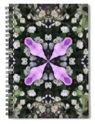 Flower Kaleidoscope_001 Spiral Notebook