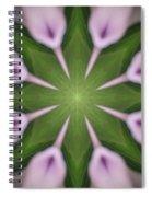 Flower Kaleidoscope_003 Spiral Notebook