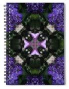 Flower Kaleidoscope_004 Spiral Notebook