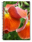 Flower Lips Spiral Notebook