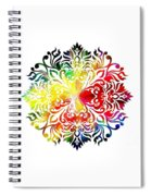 Flower Mandala 3 Spiral Notebook