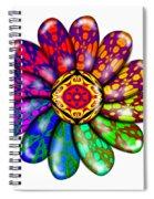 Flower Mandala 6 Spiral Notebook