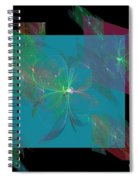 Flower Mirrors Spiral Notebook