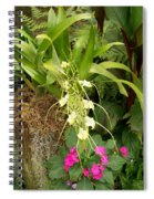 Flower Mix Spiral Notebook