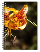 Flower Of Beauty Spiral Notebook