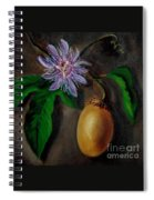 Flower Of Christ Spiral Notebook