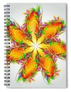 Flower Of Joy Spiral Notebook