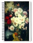Flower Painting  Spiral Notebook