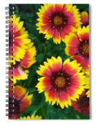 Flower Patch Spiral Notebook