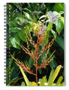 Flower Plants Spiral Notebook