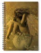 Flower Pot Fairy Spiral Notebook