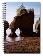 Flower Pot Rocks On The Beach, Hopewell Spiral Notebook