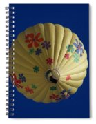 Flower Power Balloon Spiral Notebook