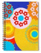 Flower Power Spiral Notebook
