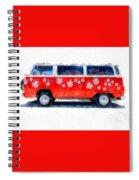 Flower Power Van Spiral Notebook