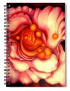 Flower Shell Spiral Notebook