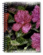 Flower Sketch Spiral Notebook