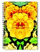 Flower Teddy Spiral Notebook