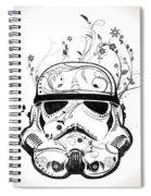 Flower Trooper Spiral Notebook