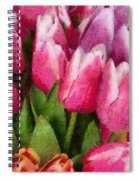 Flower - Tulip - A Young Girls Delight Spiral Notebook