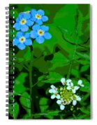Flower Vision Spiral Notebook