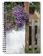 Flower Wall Spiral Notebook