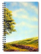 Flowered Fields Spiral Notebook