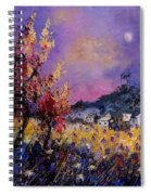 Flowered Landscape 569070 Spiral Notebook