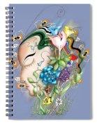 Flowerhead Spiral Notebook