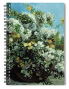 Flowering Branches And Flowers Spiral Notebook